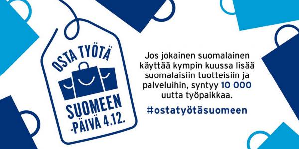 Osta työtä Suomeen